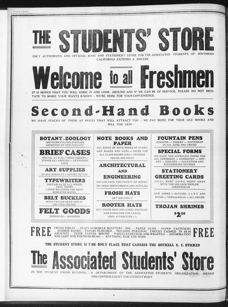 Daily Trojan, Vol. 23, No. 1, September 09, 1931