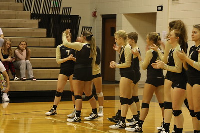 CHS Volleyball District Game Oct. 2019
