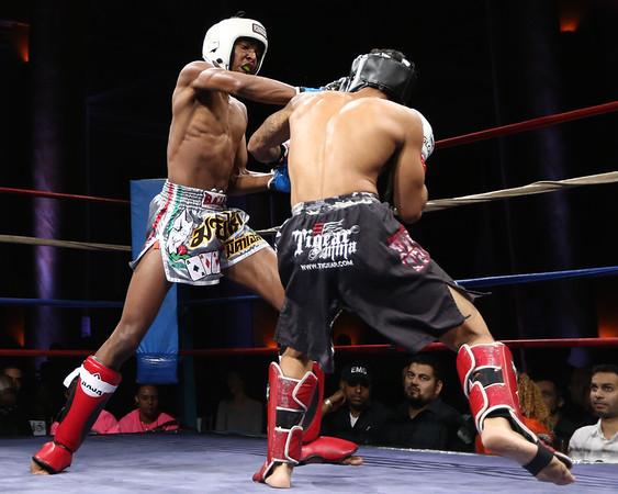 Muay Thai Combat Logo Combat at Capitale Muay Thai