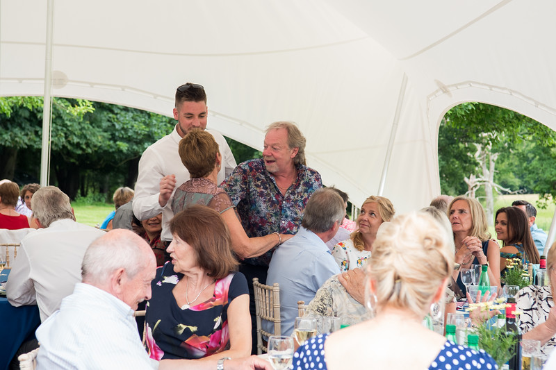 Hazel & Phil's wedding @ Knepp Castle West Sussex by23.06.2018 by Sophie Ward Photography