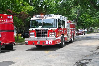 Huntington Manor FD reported Stove Fire {2021.06.19}