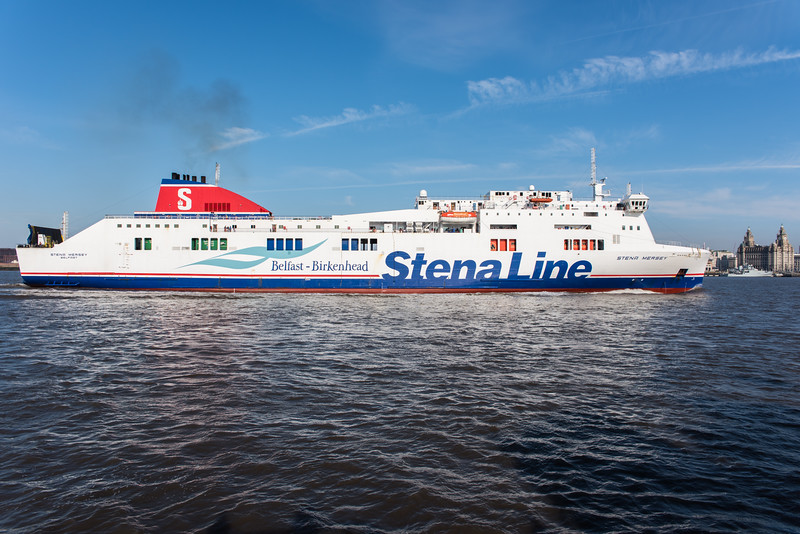 Stena Line Belfast to Birkenhead Ferry Stena Mersey