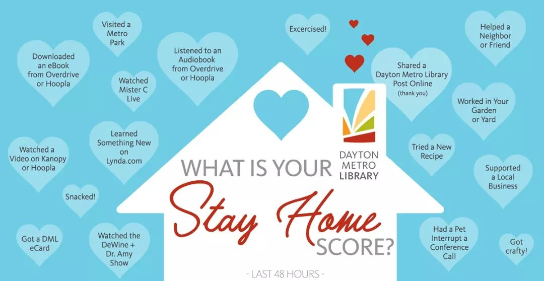 What is your Stay Home Score? from Dayton Metro Library