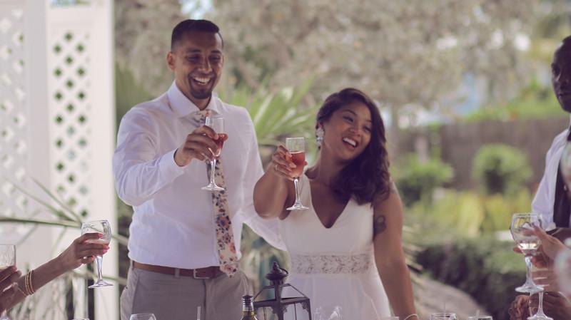 Sayed & Carrina | Destination Wedding | Luciano's of Chicago | Nassau, Bahamas