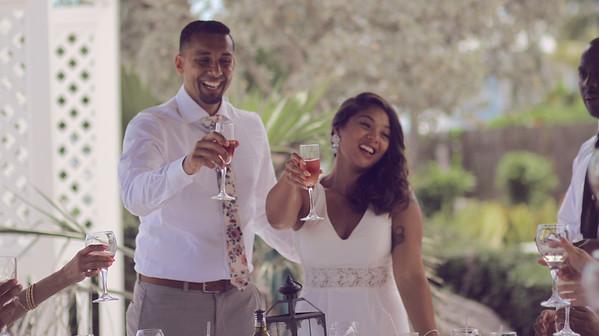 Sayed & Carrina   Destination Wedding   Luciano's of Chicago   Nassau, Bahamas