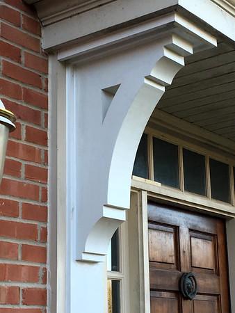 Custom Cedar Bracket 16T Front Porch