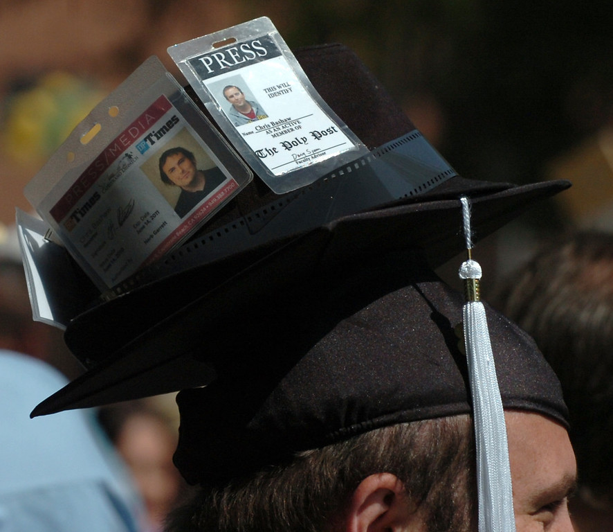 . California State Polytechnic University, Pomona graduates the College of Letters, Arts, and Social Sciences Class of 2013 Friday June 14, 2013 on the University\'s Quad. (Thomas R. Cordova/Daily Bulletin)