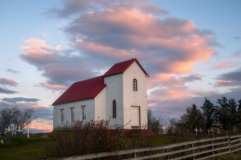 Church near Höfn
