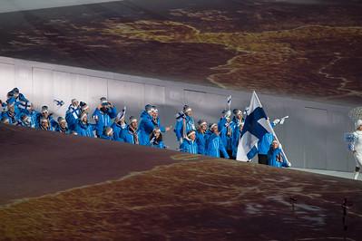 Sochi Opening cerenomy 7.2.2014