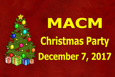 2017-12-07 MACM Christmas Party