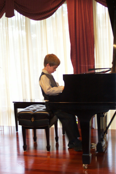 2005/05  - PTSA Luncheon piano concert Drew