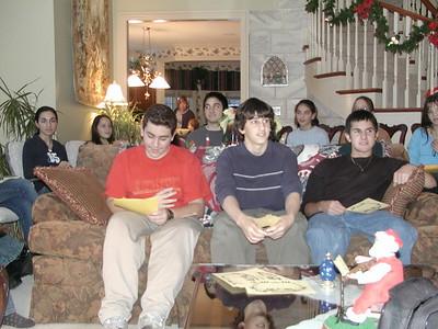 GOYA Fireside Chat - December 7, 2003