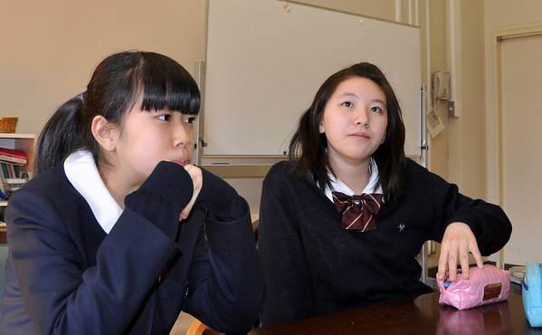 Hakuo 1st Year Class - 20 Feb 2013