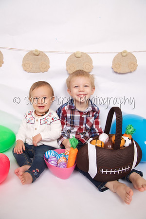 Jace and Paisleigh - Easter