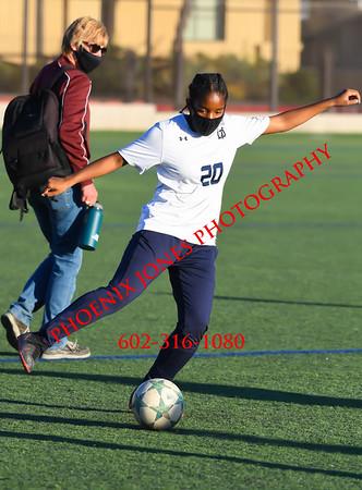 3-1-2021 - Xavier v Desert Vista - Girls Soccer