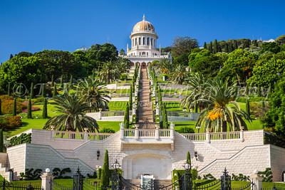 Haifa - Bahai Shrine and Gardens