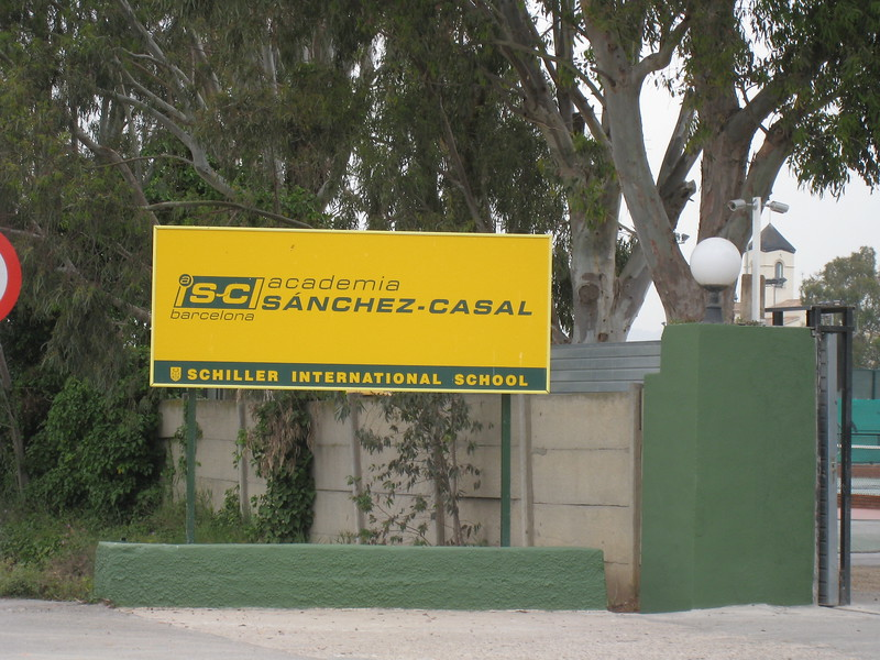 Sanchez-Casal Main Enterance