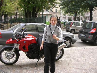Jessy's new bike