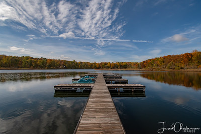 Photos of Indiana Lakes in the Winter