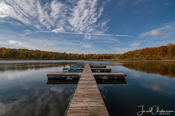 Indiana Lakes in the Winter