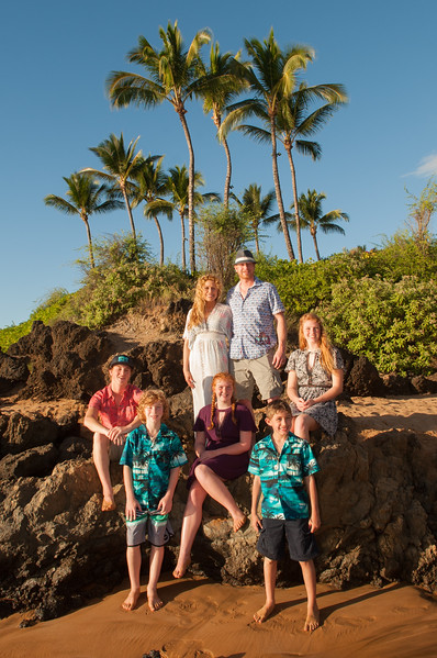 Whitted Ohana at Po'olenalena beach 1-7-18