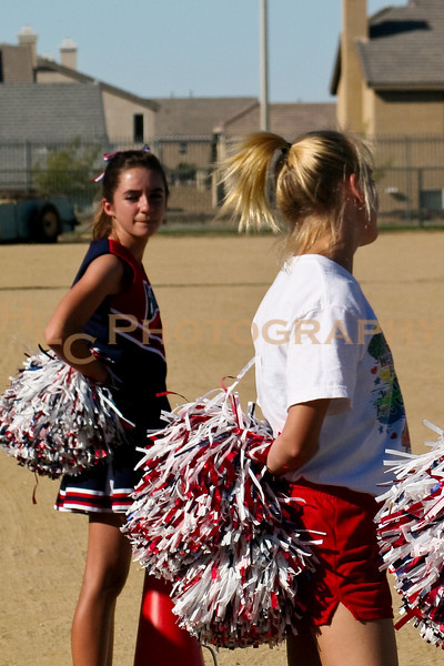 09/25/09 JV Cheerleaders-LnHS vs. Oak Hills