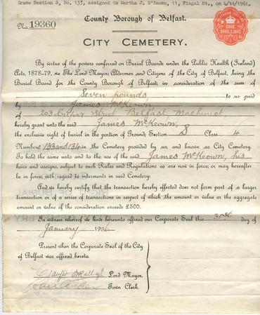Family Certificates