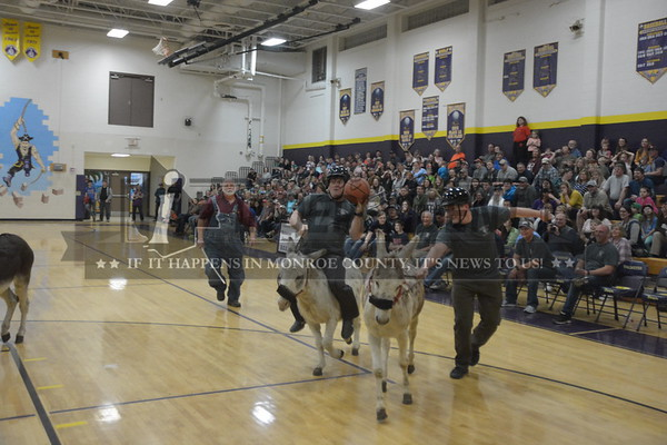 Valmeyer FFA Donkey Basketball