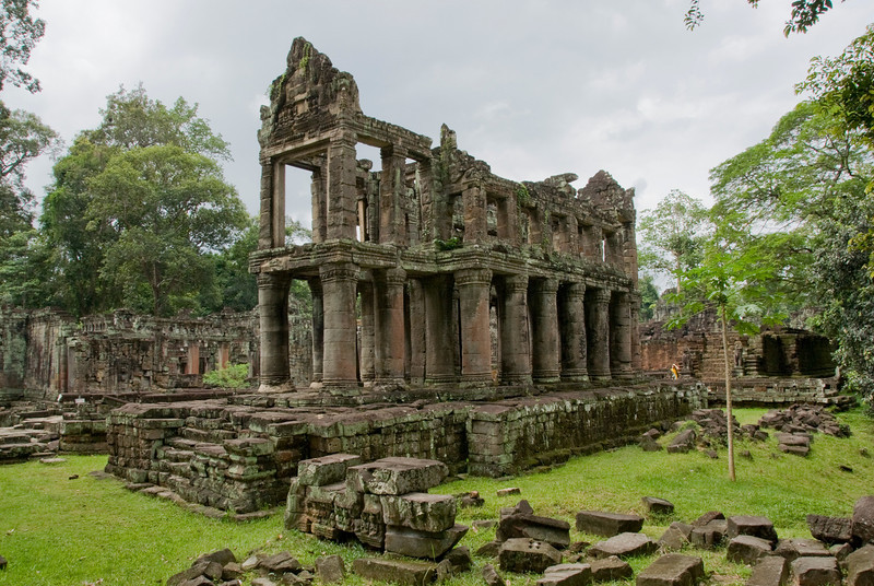 Back Building within the Angkor Wat Temple complex
