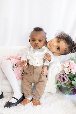 Gabriella & Noah Easter