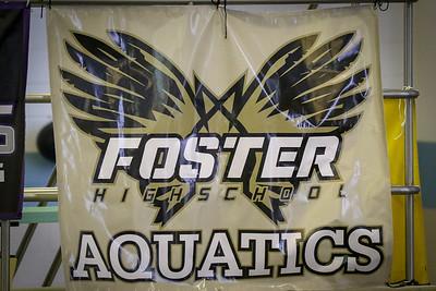 2018 Foster High School Swim Team