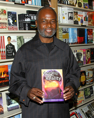 Eso Won Bookstore Presents - Creating Your Own Reality - Booksigning by Bishop Edwin J. Derensbourg PhD. ThD. 5-19-2011