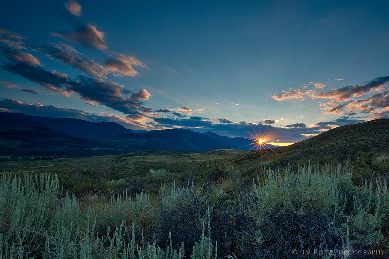 Sunset - Methow Valley