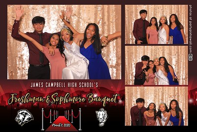 James Campbell HS Fr So Banquet 2020 (LED Dazzle Booth)