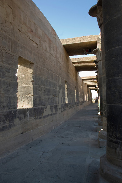 Pillars 6 - Philae Temple, Aswan, Egypt