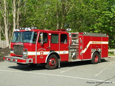 Concord, MA Fire Apparatus