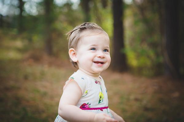 Vivian Faye - One Year Old