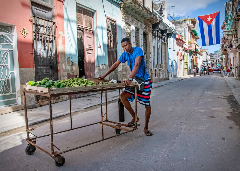 Back on the Streets of Old Havana....