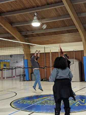Student vs. Staff Volleyball Game