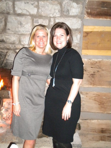 Membership Coodinator, Kimmy Livingsotn and Executive Director, Nicole Emard at The Hermitage