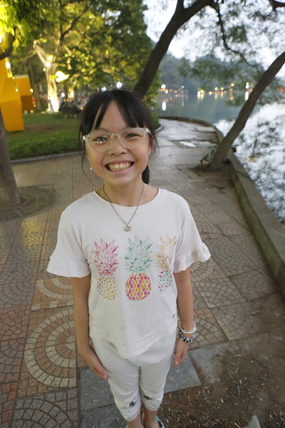Another young English speaking Vietnamese girl.