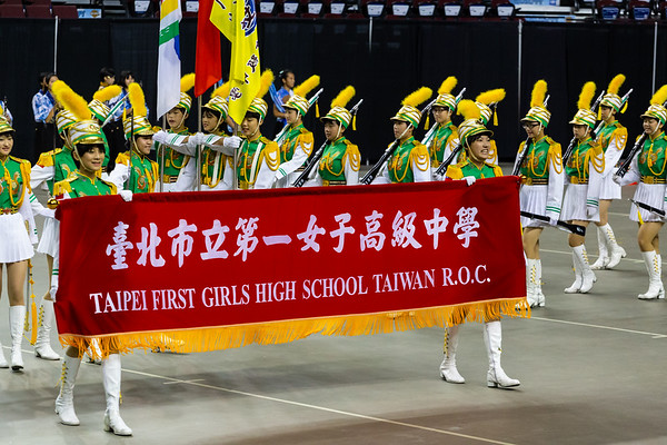 Taipei First Girls High School Marching Band