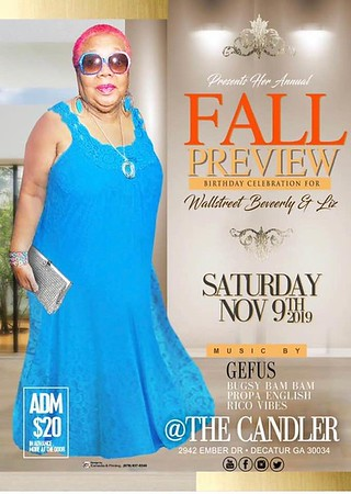 WALL STREET BEVERLY'S FALL PREVIEW 2019