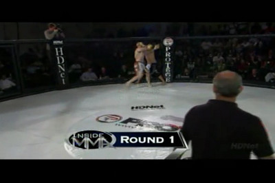 Tony Sousa VS Mark Serkez Cage Warriors USA