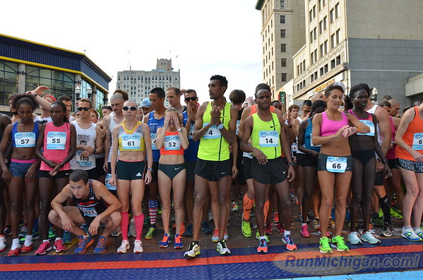 10 Mile First Wave Start - 2015 Crim Festival of Races