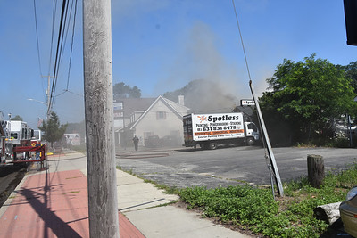 2020.07.18 Working Commercial Fire  1280 Montauk Highway