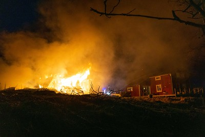 Brand i byggnad Hisshult