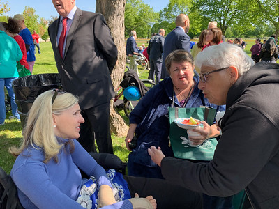 2019 Coffee with Mayor Moakely Park