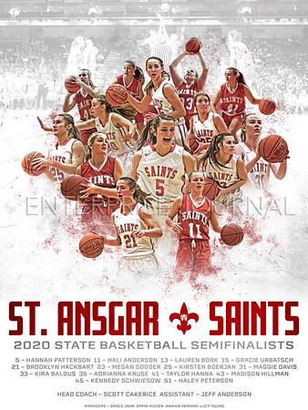 2020 State Basketball Poster
