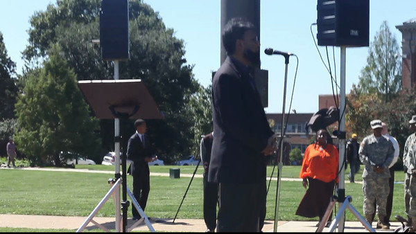 Howard University 9/11 Interfaith Prayer at Flagpole 2012